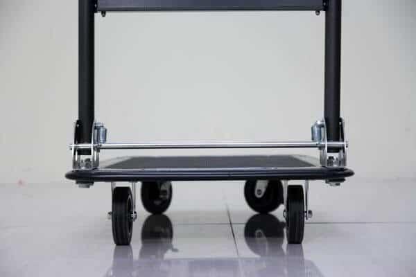Xe đẩy hàng 4 bánh sàn thép phủ nhám ADVINDEQ HT-170